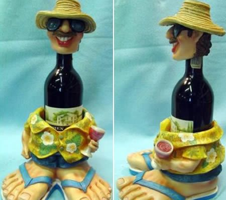 Artistic Funny Bottle Holder