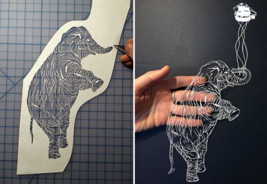 Intricate Hand Cut Paper Art By Maude White