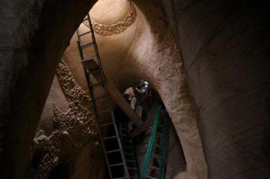 Underground Caverns Turned Into Art
