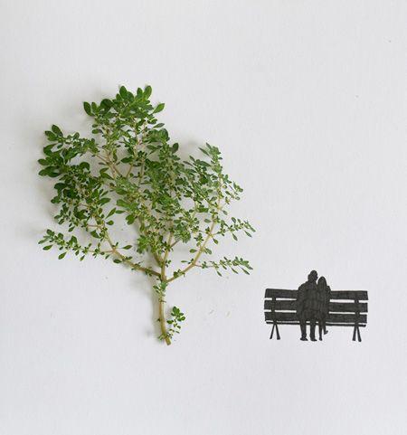 Amazing Creativity Using Leaves