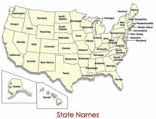 How 50 States Of US Got Their Names
