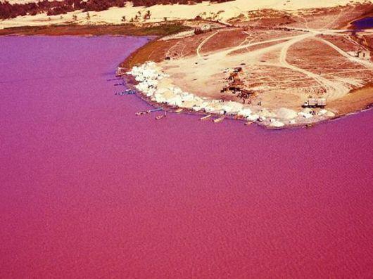 Lake Retba - The Pink Lake