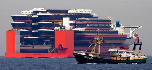 Heavy-Lift Ships Are Incredible Feats Of Engineering