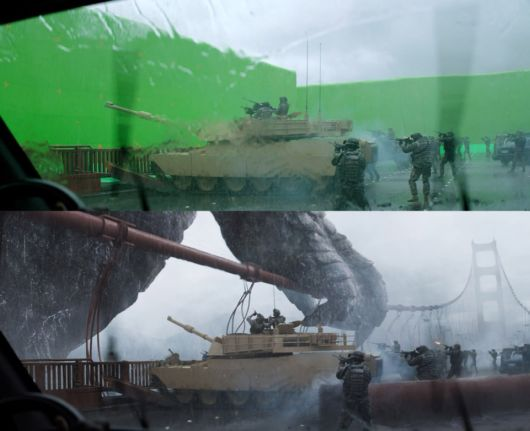 Amazing Before And After Shots Of Visual Effects
