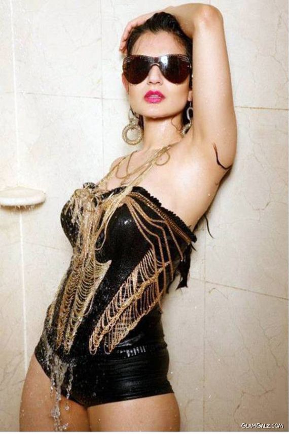 Amisha Patel Exclusive Photoshoot For Midday