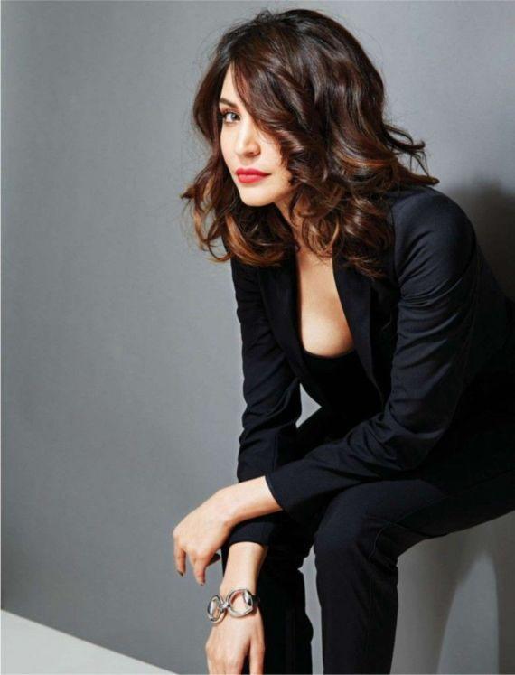 Anushka Sharma On Filmfare India Magazine March 2015