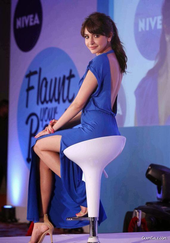 Anushka Sharma At Launch Of NIVEA Campaign