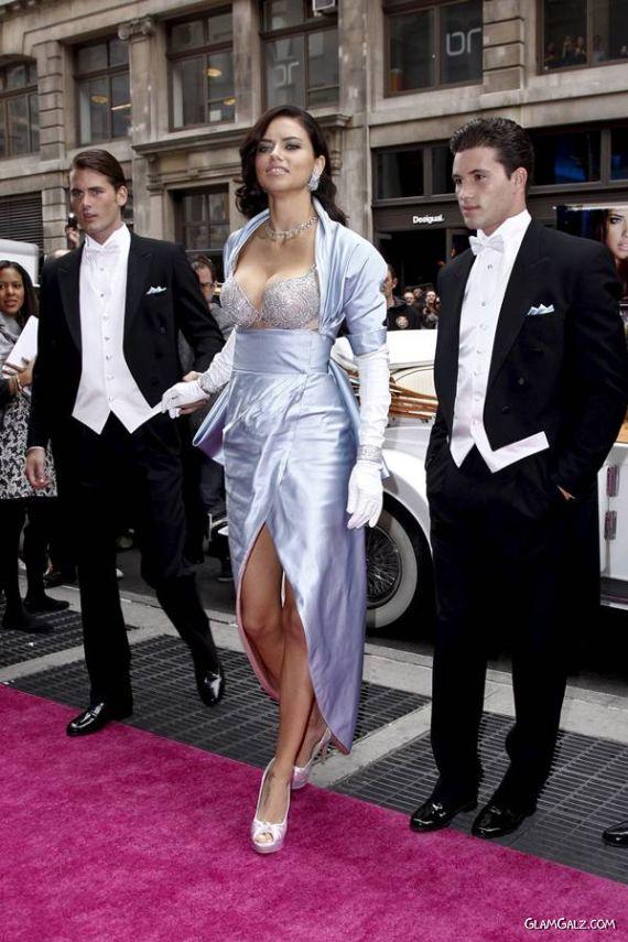 Adriana Lima VS $2 Million Fantasy Bra Launch
