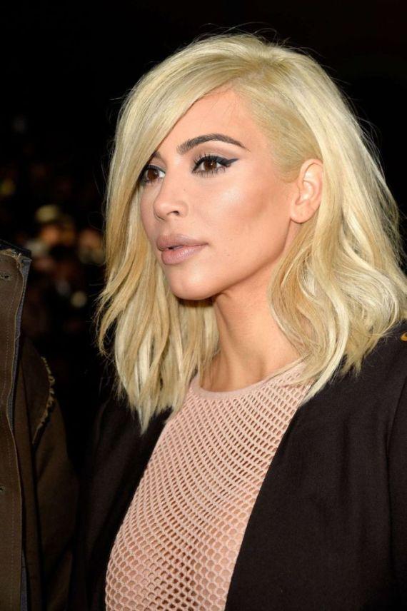 Miss Kardashian At Lanvin Fashion Show In Paris