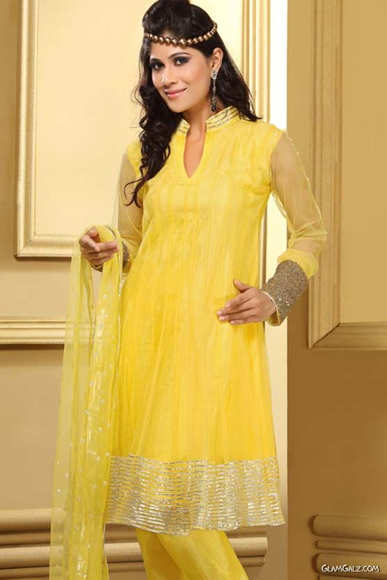 Indian Anarkali Salwar Kameez Fashion