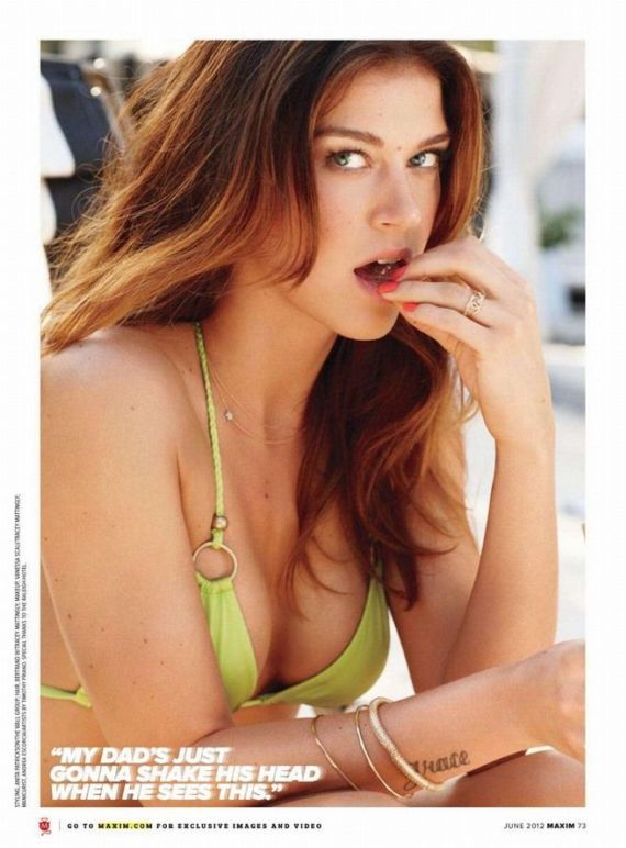 Adrianne Palicki Gracing Up Maxim Pages