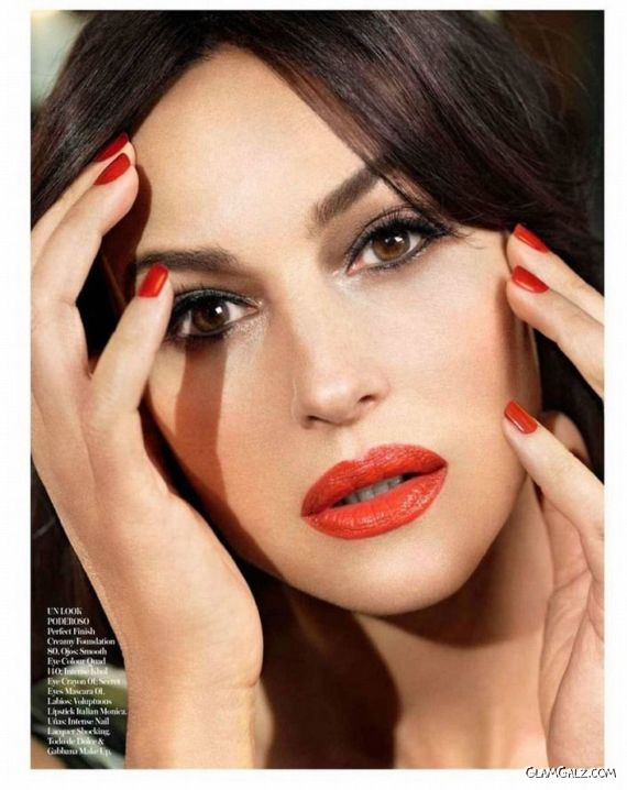 Monica Bellucci For Vogue Spain