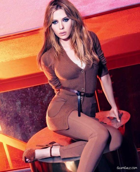 Scarlett Johansson Exclusively For Mango