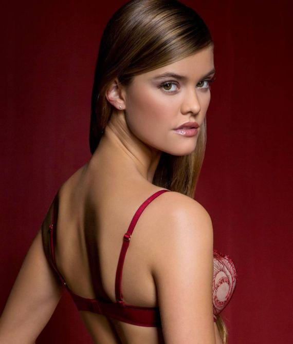 Nina Agdal Models For Calvin Klein