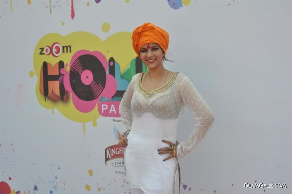 Celebrities At Zoom Holi Party