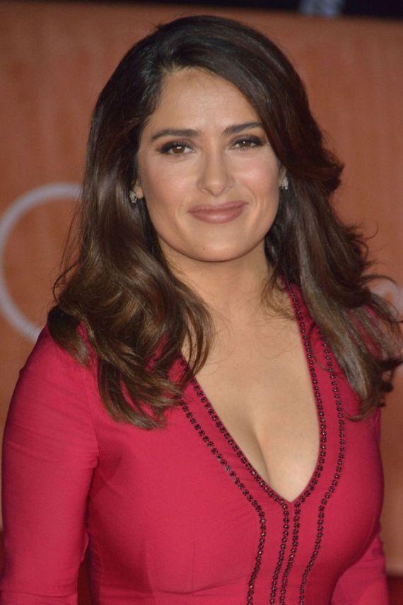 Salma Hayek For Septembers Of Shiraz Premiere