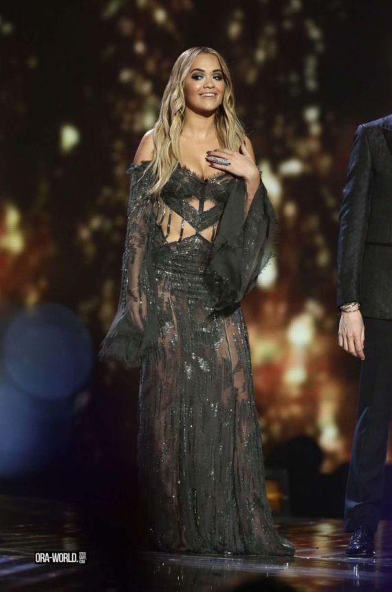 Rita Ora Performs At X Factor Series Finale In London