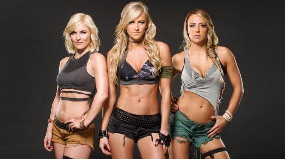 WWE's Marine Themed Photoshoot 2015