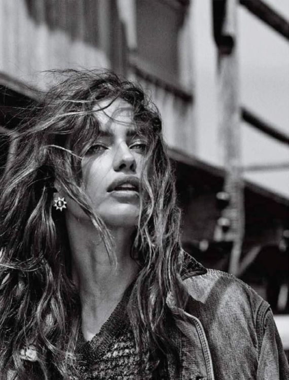 Irina Shayk For Vogue Brazil Magazine
