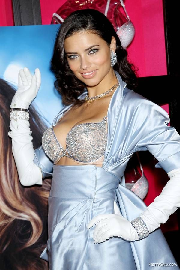 Adriana Lima VS $2 Million Fantasy Bra Launch