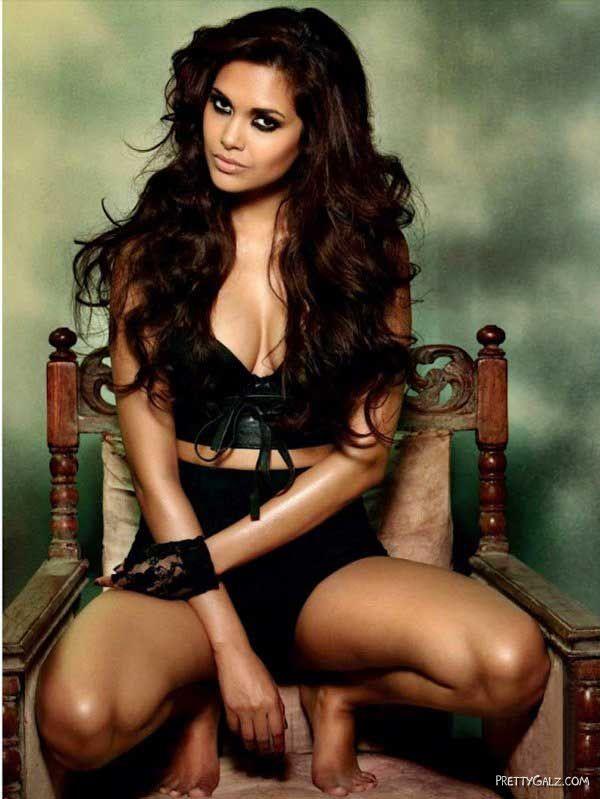 Esha Gupta Heating Up Maxim Pages