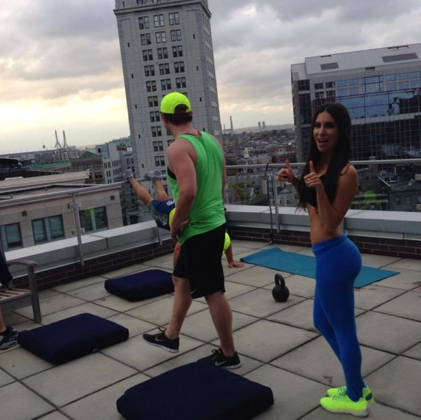 Awesome Fitness Instructor Jen Selter