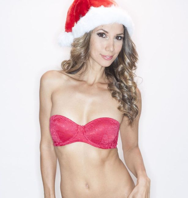 Leilani Dowding For Mrs Clause Photoshoot In LA