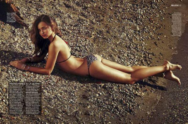 Miranda Kerr For Elle Spain Magazine