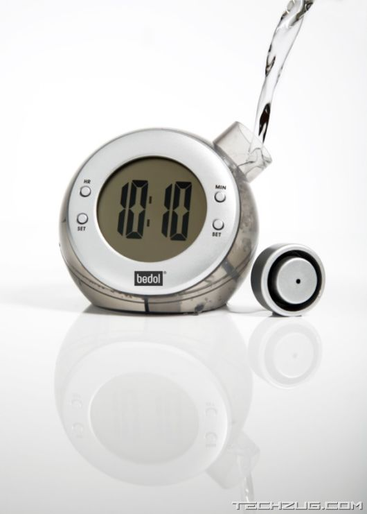 Amazing Water Energized Alarm Clocks